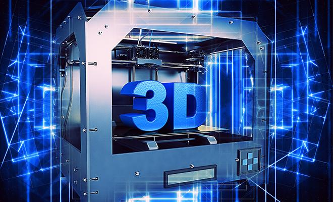 Imagen de impresión en 3D
